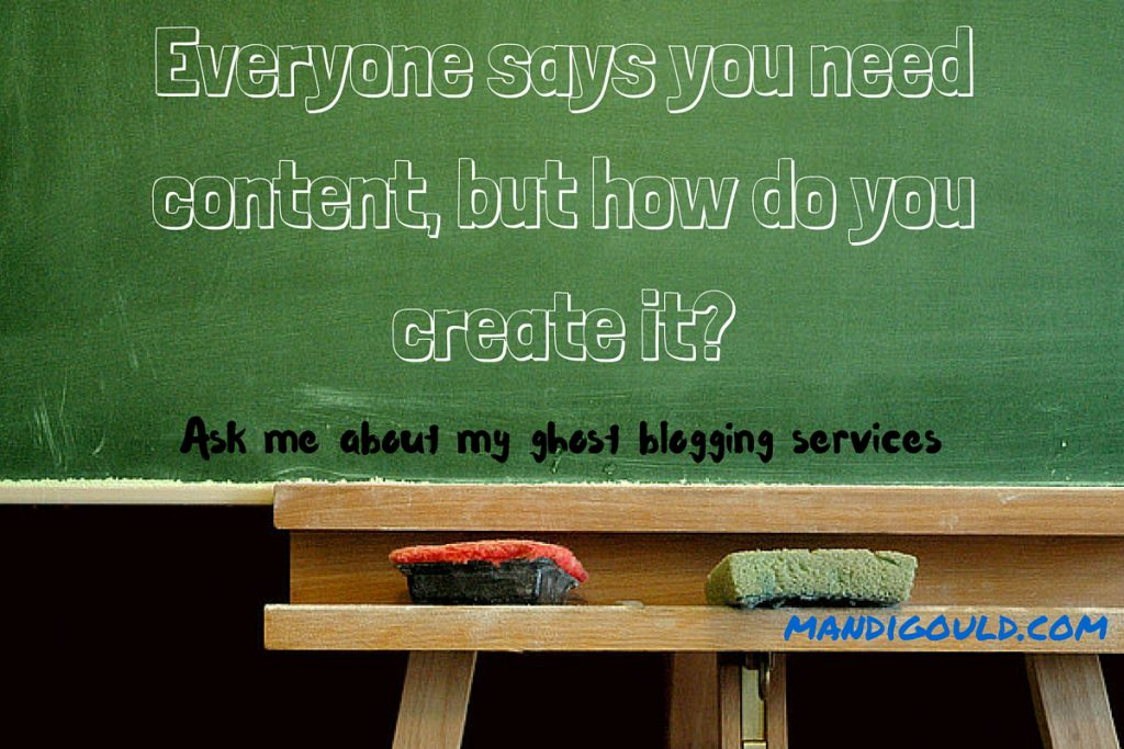 Everyone says you need content, but how do you create it
