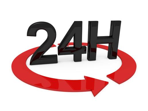 24 Hour Website Turn Around